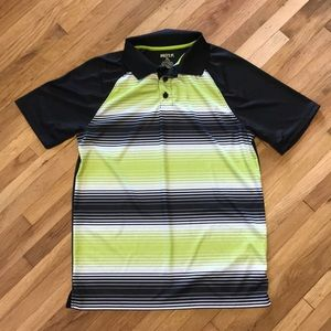 Other - Boys black and green polo